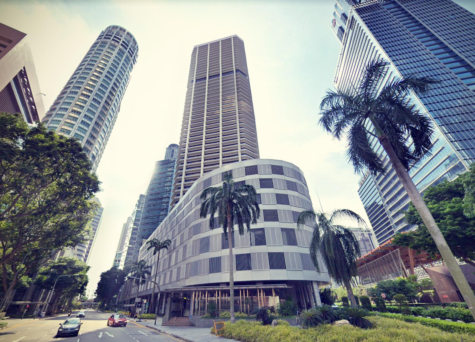 Sybil Agri office at Singapore - International Plaza